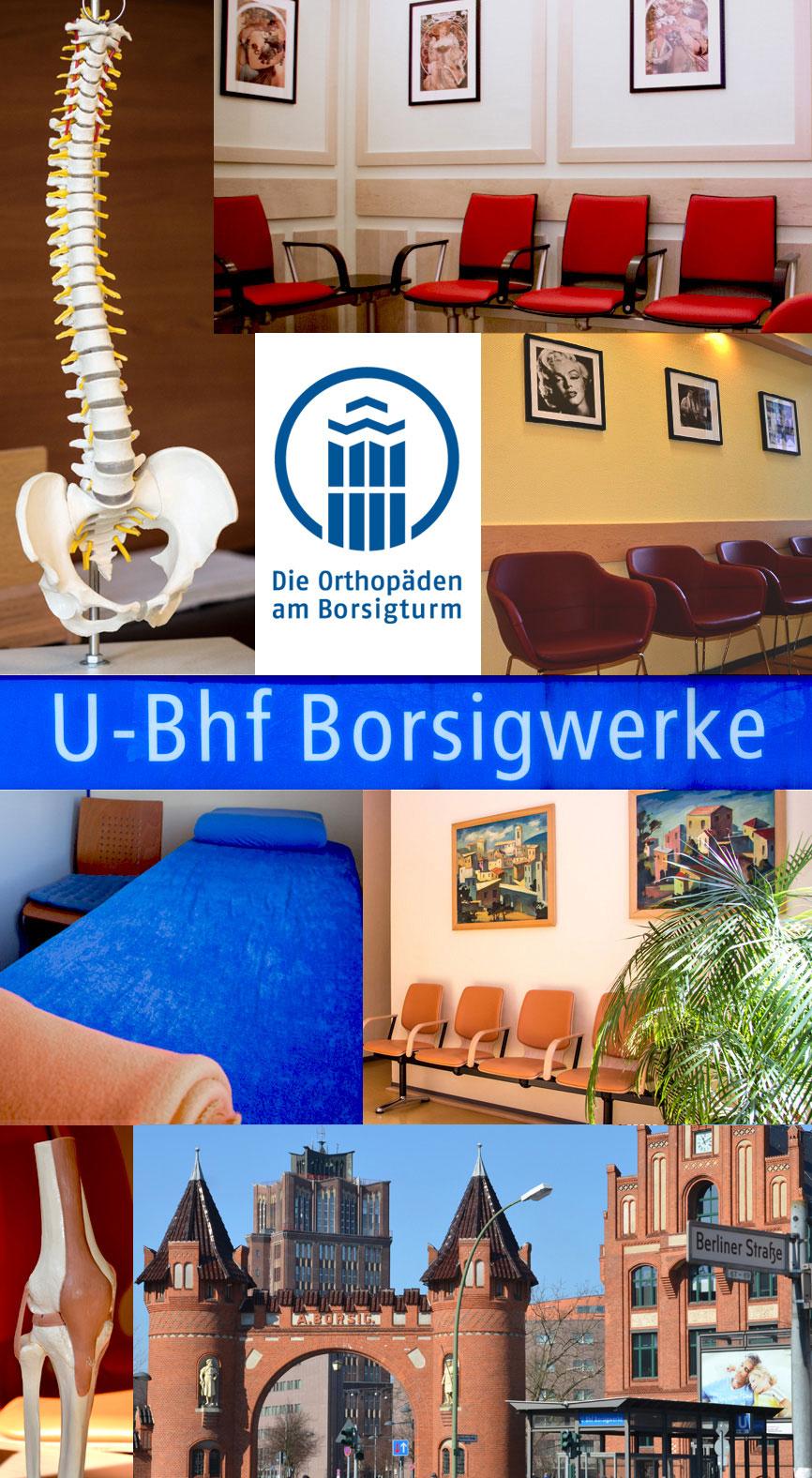 Bild - Praxis Die Orthopäden am Borsigturm - Räumlichkeiten bzw. Praxisräume
